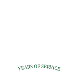 over 20 years of service